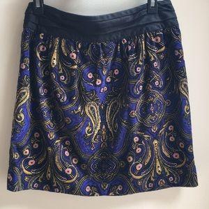 Anthropologie Whizbang corduroy skirt